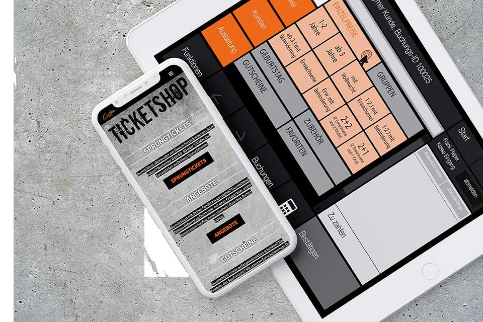 Kasse Buchung Indoor Ticketshop Onlinebuchung Ticketing Kassensystem Buchung Contigo Indoortainment